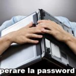 Come recuperare la password Wifi del Modem