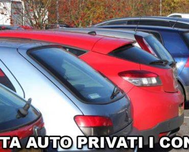 vendita auto privati