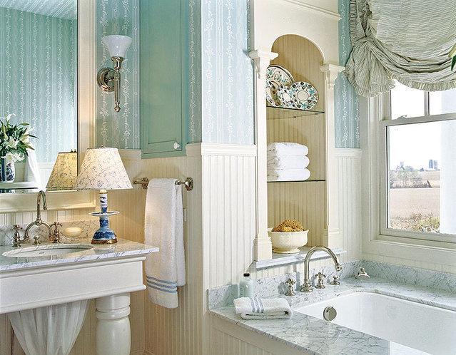 Bagno stile provenzale idee per realizzarlo endas lazio for Arredo bagno in stile provenzale